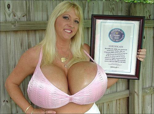Big boobs ! (wold record inside)