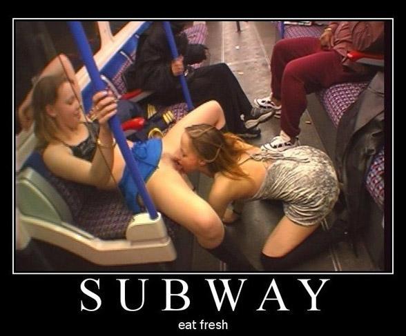 Фото секс в метро 81491 фотография